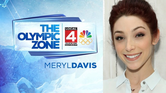 Olympic gold medalist Meryl Davis joins WDIV's Winter Games coverage