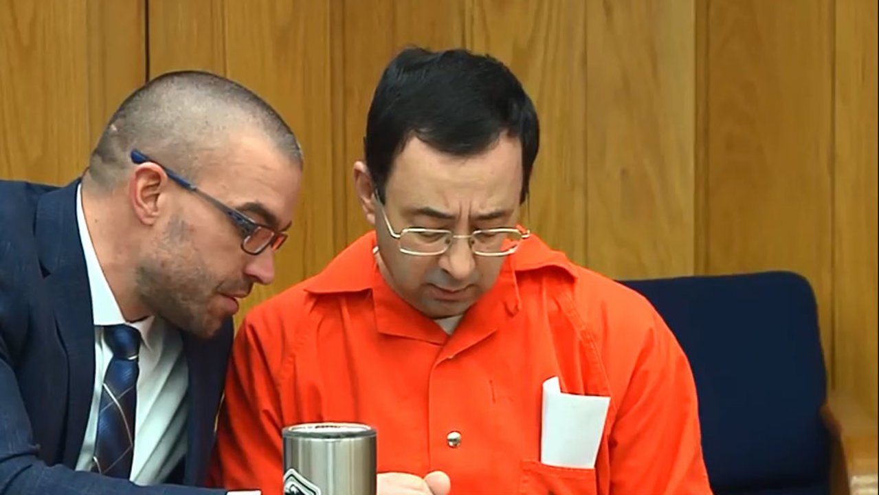 LIVE STREAM: More victims to speak at another sentencing for Larry Nassar in Michigan