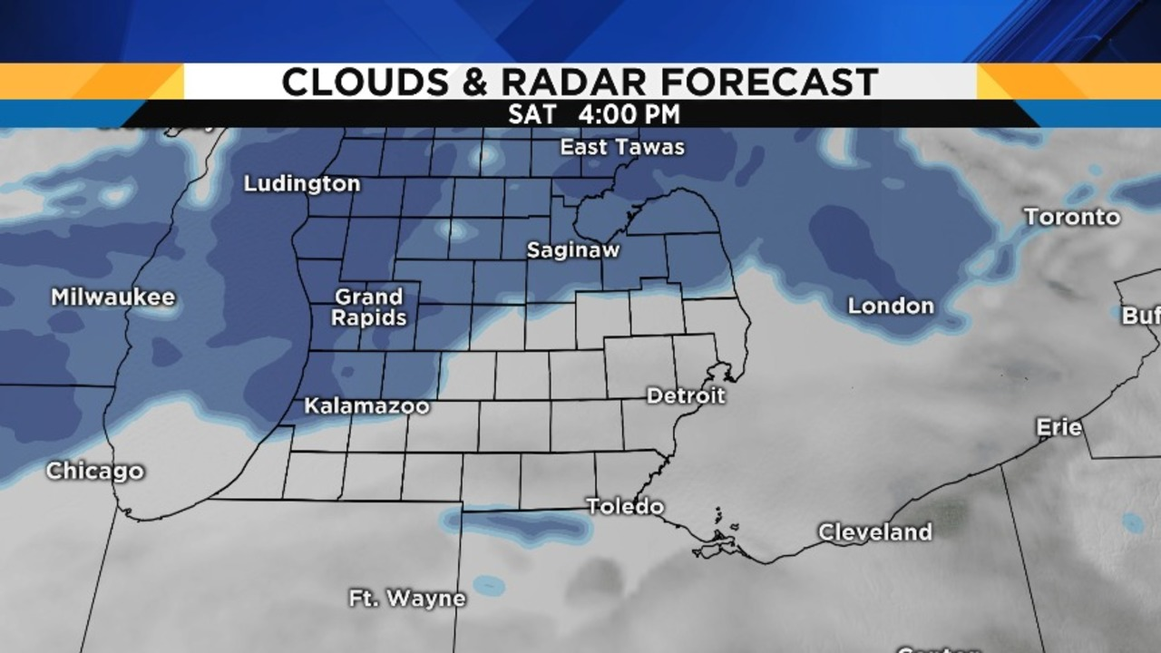Snow returns this evening