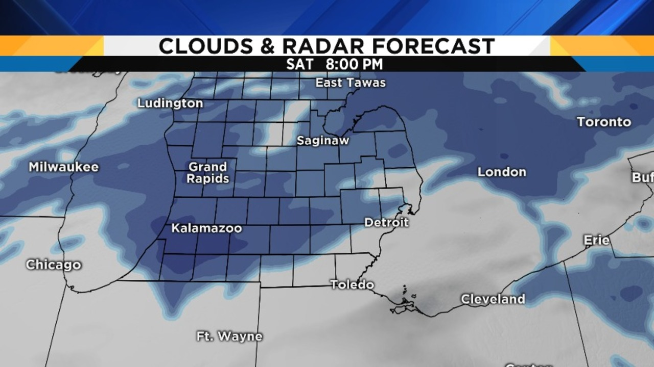 Some snow, sleet for Super Bowl Sunday