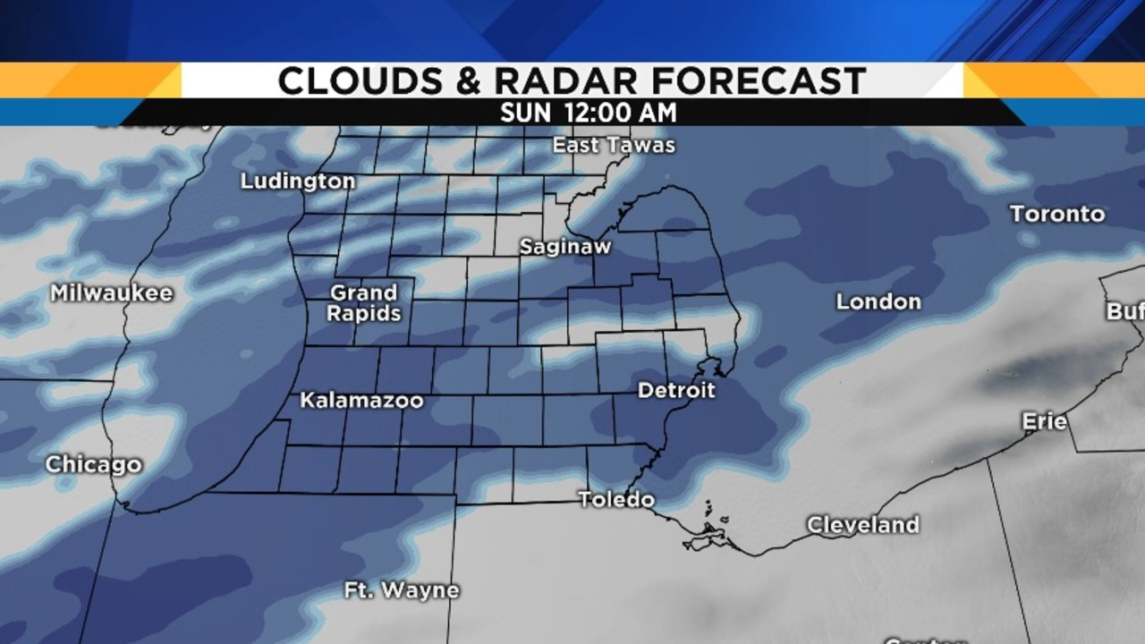 Winter weather could make for slick afternoon commute