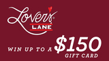 Lover's Lane Valentines Day Contest Rules