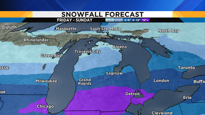 Metro Detroit weather: Major winter storm to dump up to 9