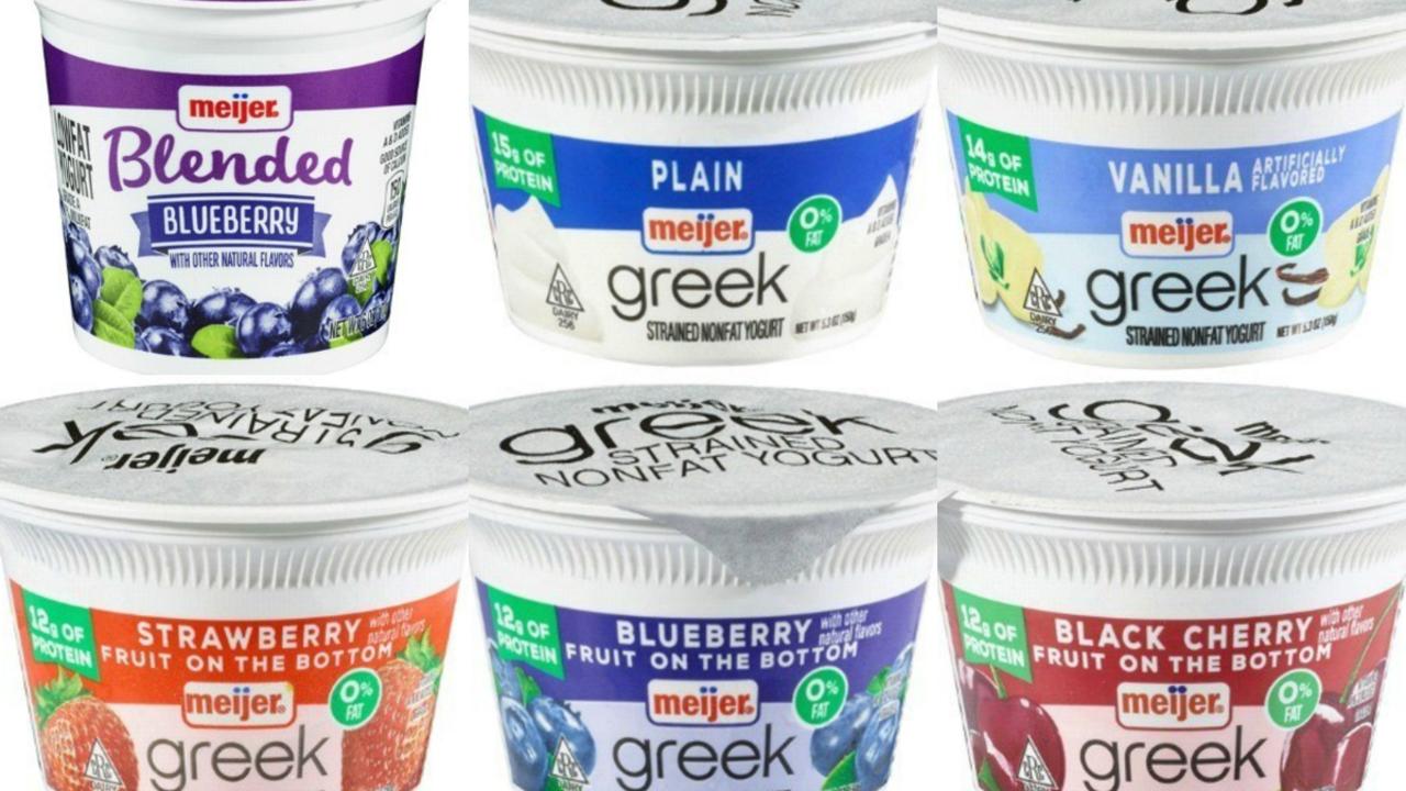 Meijer recalls Greek, low-fat yogurts due to risk of glass...