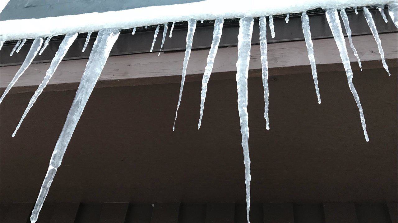 Why You Don T Want To See Icicles Hanging From Your Gutters