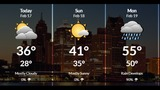 Metro Detroit weather: Partly sunny, chilly start to President's Day Weekend