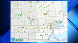 FLOOD MAP: Check if a body of water near you might flood during this week's rain