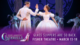 Win tickets to see Cinderella at the Fisher Theatre  rules
