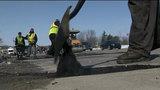 Road closures: MDOT crews work to fill Metro Detroit potholes as roads crumble