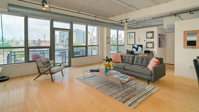 Modern loft in downtown Ann Arbor for sale