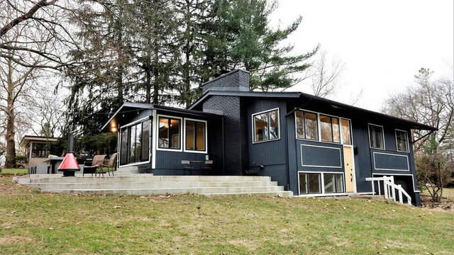 Stylish home in Ann Arbor's Wines neighborhood on the market