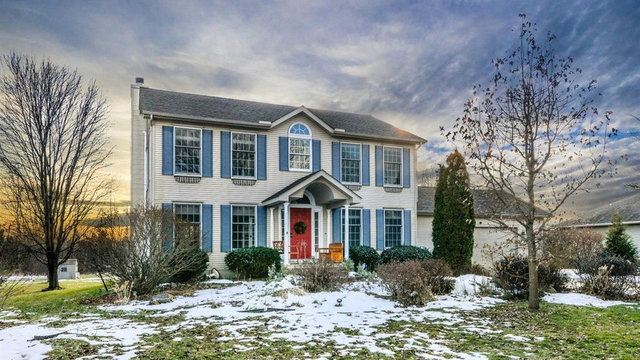 Beautiful Ann Arbor colonial-style home for sale