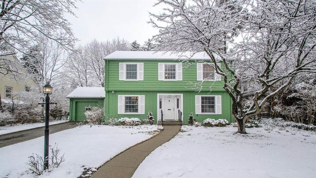 Four-bedroom colonial in Ann Arbor's Burns Park for sale