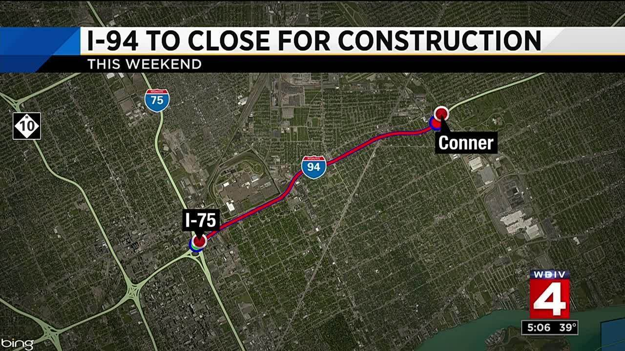 TRAFFIC: Alternate routes available for I-94 weekend closure