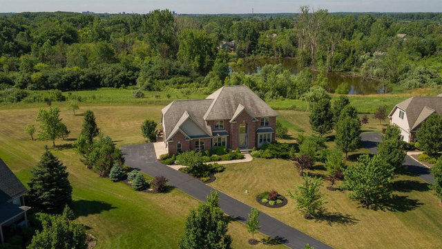 Four-bedroom home sitting on 1.1 acres in north Ann Arbor for sale