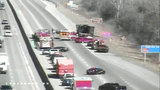 Eastbound I-94 reopened at Harper in Macomb County after vehicle fire