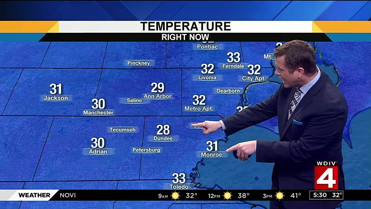 Metro Detroit Weather Forecast Cooler In Low 40s Monday