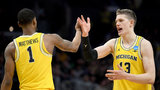 Michigan basketball dominates Texas A&M, 99-72, to advance to Elite 8