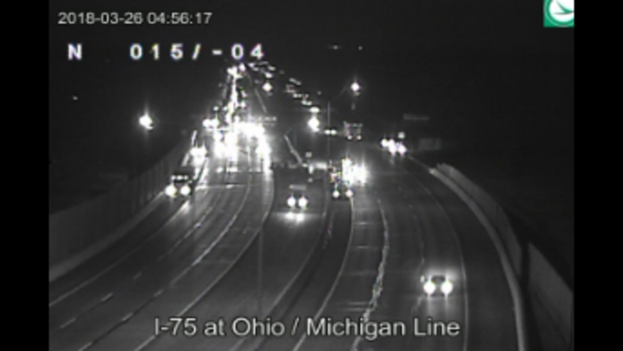Southbound I-75 reopens near Michigan-Ohio border
