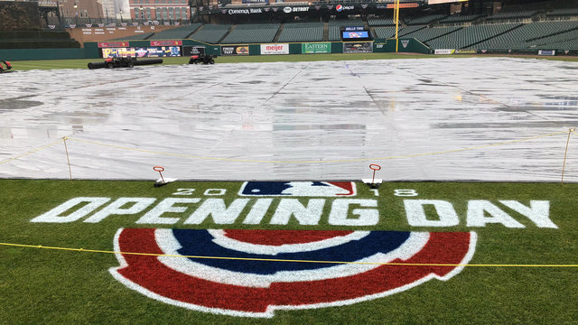 Rain, snow possible for Detroit Tigers Opening Day on Thursday