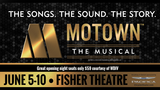 Win 2 tickets to see Motown the Musical June 6th at the Fisher Theatre rules