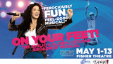4 tickets to On Your Feet, Salsa Lessons at City Style Tango & Pedicure&hellip&#x3b;