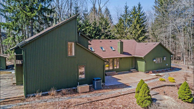 Contemporary Ann Arbor home with forest views new to market