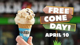 Get a free cone at Ben & Jerry's Tuesday in Ann Arbor