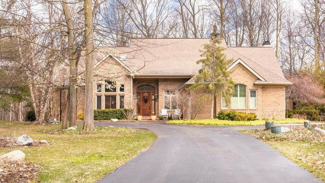 Luxurious Ann Arbor home surrounded by woods listed for $1M