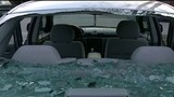 Woman's rear window mysteriously shatters while driving on I-696 near I-75