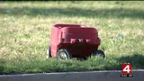 Park-bound boy pulling red wagon killed by hit-and-run driver