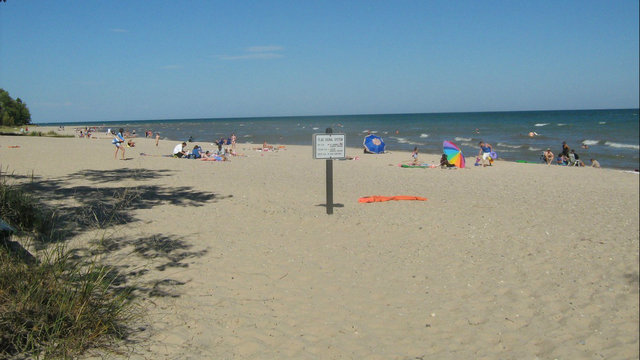 Michigan travel pick: Camp on the beach at Harrisville State Park