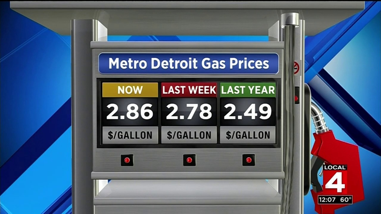 Detroit Gas Prices >> Local Gas Prices Hit 3 Year High