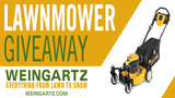 Lawnmower Giveaway Contest Rules