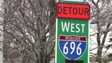 Westbound I-696 to close from US-24 to I-275 in Oakland County this weekend