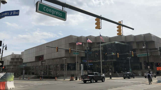 Detroit's Cobo Center has a new name