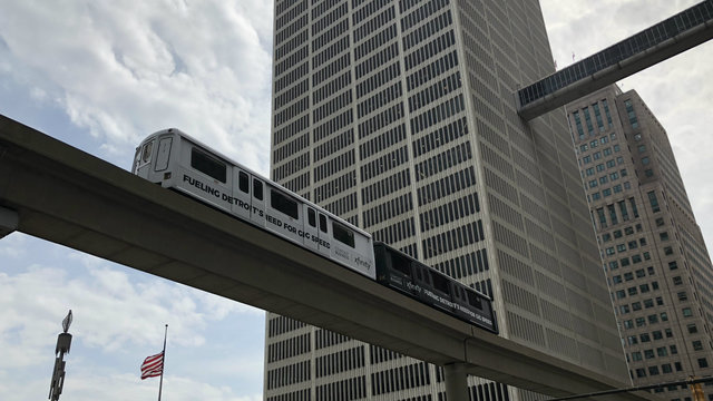 The Detroit People Mover to be closed July 4