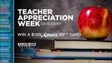 Teacher Appreciation Week Giveaway Official Rules