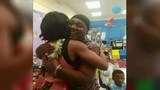 Rhonda Walker makes surprise visit to Carver Stem Academy