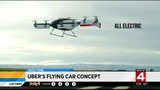 Uber's flying car concept