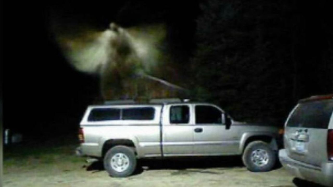 Michigan pastor says motion sensor camera captured 'angel' above his truck