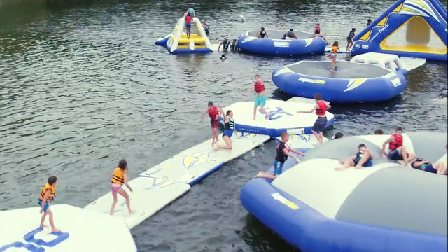 3 Michigan state parks to offer 'floating playground' water parks this summer