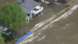 Aerial video shows severe flooding in Monroe County