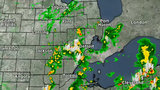 LIVE RADAR: Storms moving into Southeast Michigan Saturday afternoon