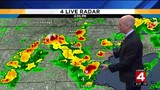 Saturday afternoon weather in Metro Detroit: Storms moving through