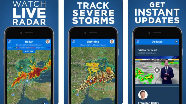 Best Detroit weather app: The Local4Casters app delivers