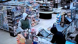 2 wanted after man jumps over counter, bear-hugs clerk to steal cash&hellip&#x3b;