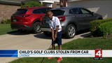 Child's golf clubs stolen from car&#x3b; family pleads for thief to return&hellip&#x3b;