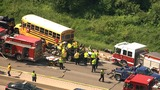 Tow truck driver killed, 7 injured in crash involving school bus on&hellip&#x3b;