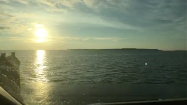 Watch the sunrise over Michigan's Mackinac Island aboard a secret ferry
